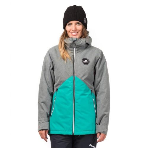 Куртка для сноуборда женская Horsefeathers Womens Judy Jacket Gray Melange