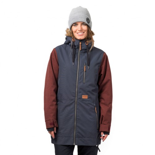 Куртка для сноуборда женская Horsefeathers Womens Tamika Jacket 18/19, navy
