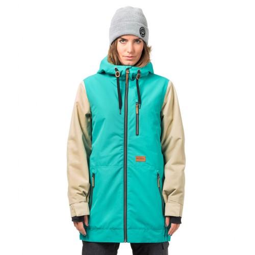 Куртка для сноуборда женская Horsefeathers Womens Tamika Jacket 18/19, bluegrass