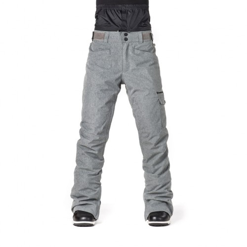 Штаны для сноуборда женские Horsefeathers Womens Eve Pants 18/19, gray melange