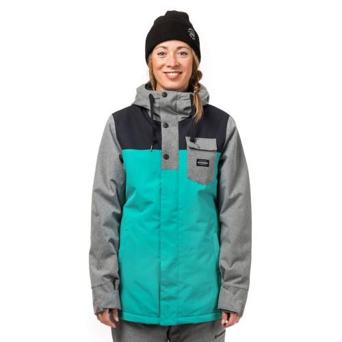 Куртка для сноуборда женская Horsefeathers Womens Loma Jacket 18/19, bluegrass