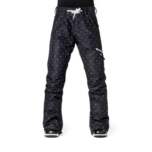 Штаны для сноуборда женские Horsefeathers Womens Rey Pants 18/19, dots
