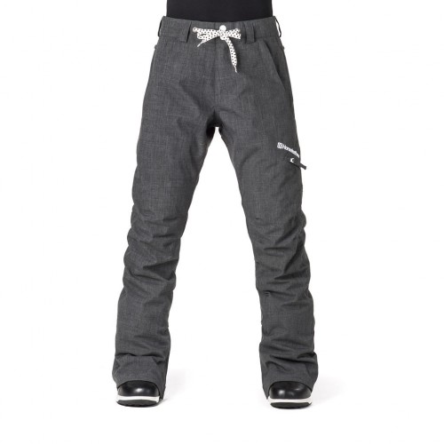 Штаны для сноуборда женские Horsefeathers Womens Rey Pants 18/19, shadow melange