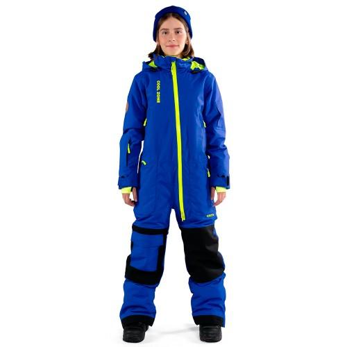 Комбинезон для сноуборда подростковый Cool Zone Teens Ice 18/19, синий