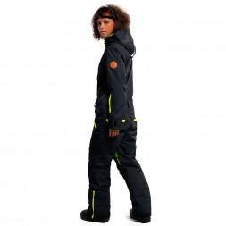 Cool Zone Womens Twin One Color 18/19, черный/салат