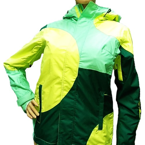 Куртка женская для сноуборда Eleven Lola Jacket Green/Blue/Pistache