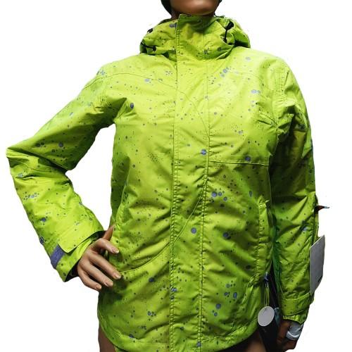 Куртка женская для сноуборда Eleven Dots Green