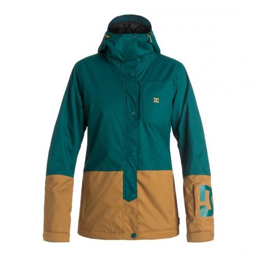 Куртка для сноуборда женская DC Defy 16/17, deep teal