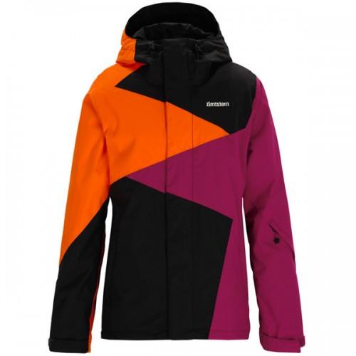 Куртка для сноуборда женская Zimtstern Alena, dark grey