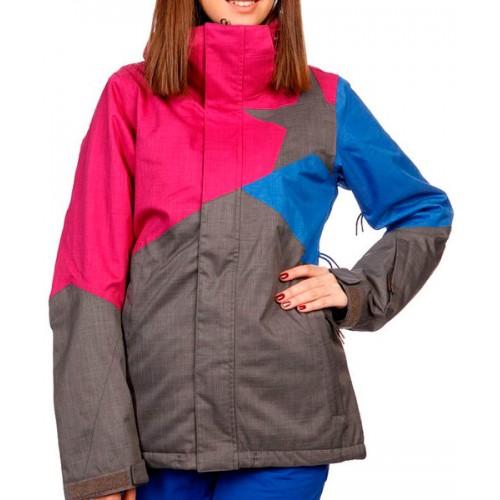 Куртка для сноуборда женская Zimtstern Sarin, dark grey