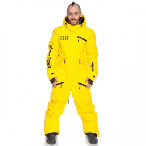 Комбинезон мужской для сноуборда и лыж Cool Zone Mens Suit 16/17, желтый
