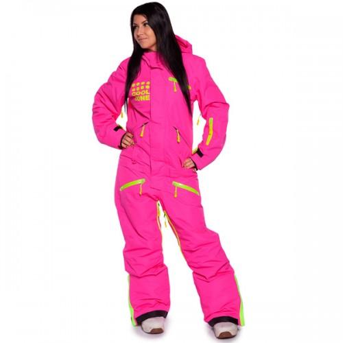 Комбинезон женский для сноуборда и лыж Cool Zone Womens Suit 16/17, цикламен