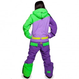 Cool Zone Womens Suit 16/17, лайм/фиолет/фиолет