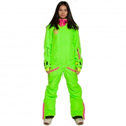 Cool Zone Womens Twin One Color 17/18, лайм/цикламен