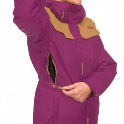 North Face Degadon wms Jacket 13/14, purple/brown
