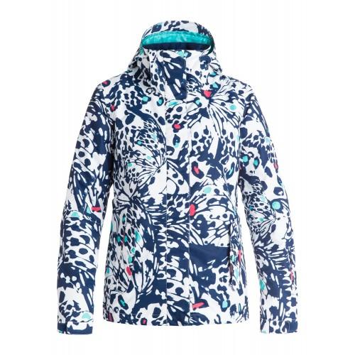 Куртка для сноуборда женская Roxy Jetty 16/17, butterfly blue print