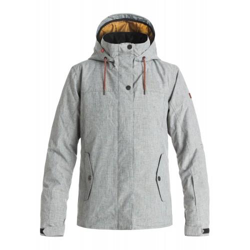 Куртка для сноуборда женская Roxy Billie 16/17, heather grey